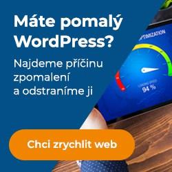 zrychlení wordpressu